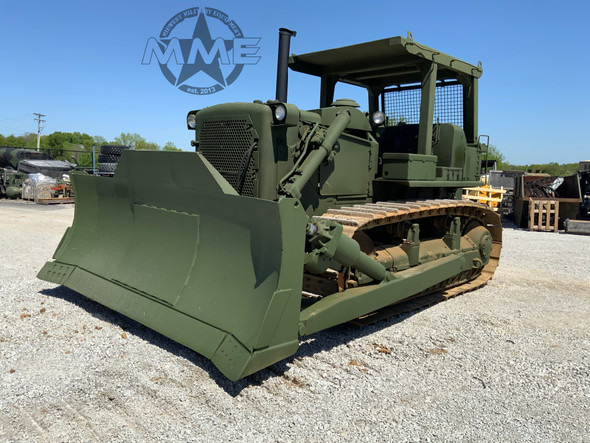 EX-Military Caterpillar D7-F Dozer With Hydraulic Hyster Rear Winch
