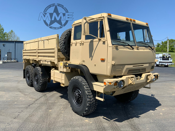 2009 BAE Systems M1093A1 MTV 5 Ton 6x6 Cargo Truck W / Air Conditioning