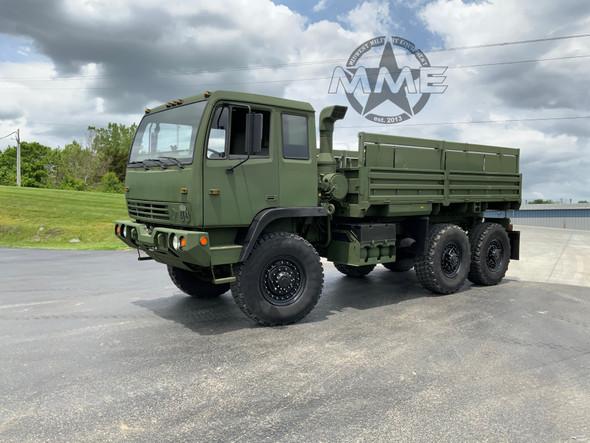1999 Stewart & Stevenson M1083a1 MTV 5 Ton 6X6 Military Cargo