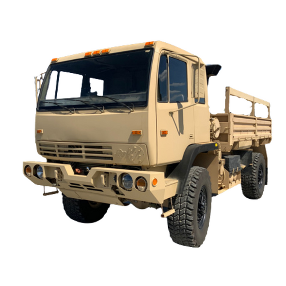 Stewart & Stevenson M1078A1  LMTV 2 1/2 Ton Military Cargo W/ Hydraulic Winch