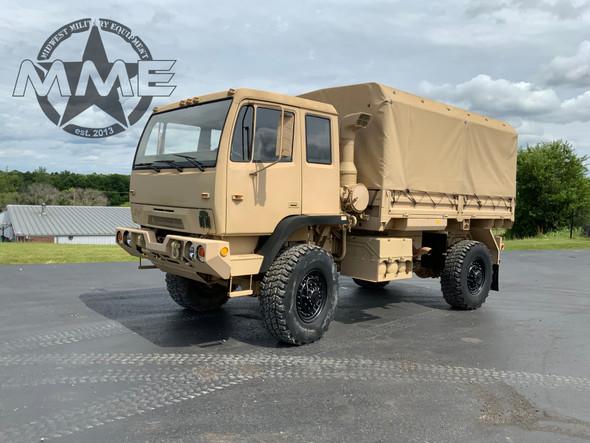 1997 Stewart & Stevenson M1078 4X4 2 1/2 Ton Cargo Truck .