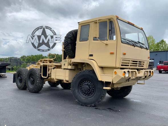 2002 Stewart & Stevenson M1088A1 5 Ton 6x6 Military Semi Truck Tractor W/Winch