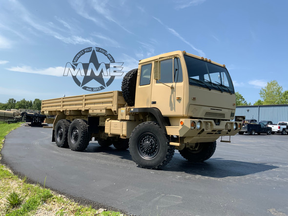 2000 Stewart & Stevenson M1085A1 MTV 6x6 Long Wheel Base Cargo Truck