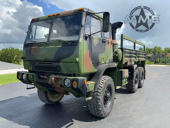 2009 BAE Systems M1093A1 MTV 5 Ton 6x6 Cargo Truck W/ Air Conditioning