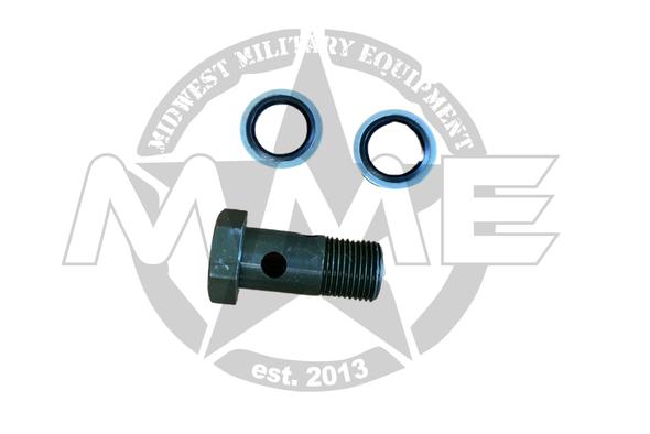 Replacement LMTV/MTV/FMTV CTIS Banjo Bolt & Washers