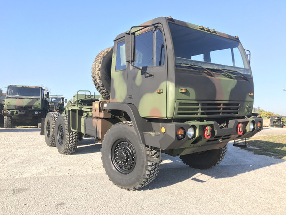 1998 Stewart & Stevenson M1088 5 Ton Military Semi