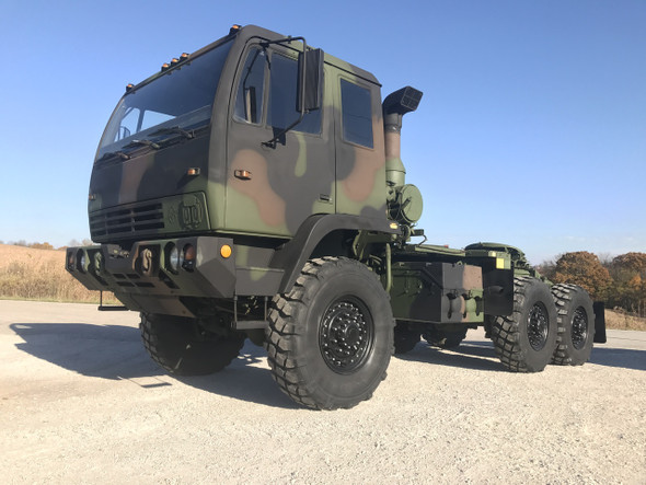 1998 Stewart & Stevenson M1088 5 Ton Military Semi Truck