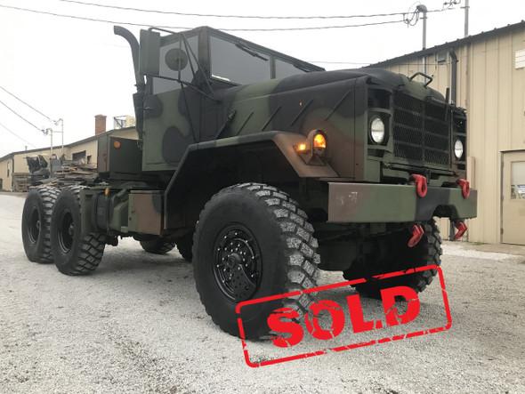 BMY 5 Ton M931A2 MILITARY SEMI Truck 6X6