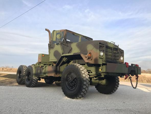 2011 Rebuild M932a2 Military 6x6 5 Ton Semi 20,000LB winch