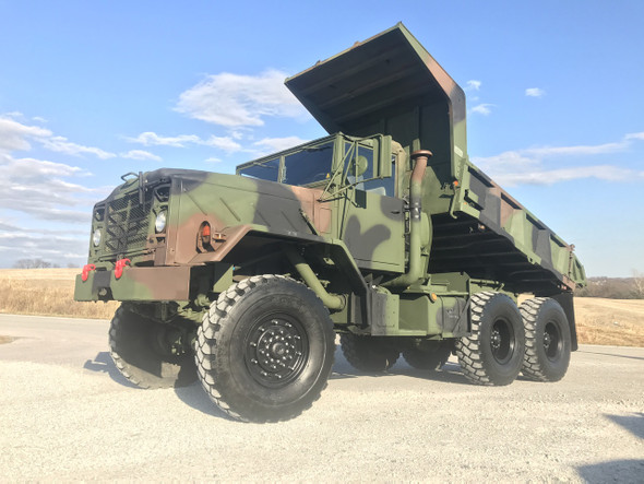 2009 Rebuild M929A1 Am General  6x6 Dump Truck