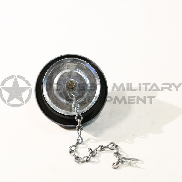 MILITARY HUMMER FUEL CAP WITH CHAIN HUMVEE M998 M1026