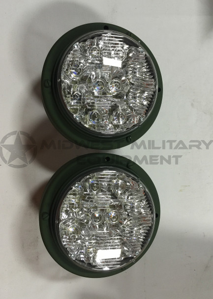 2 Truck Lite LED Headlights Military Truck Lite 24V