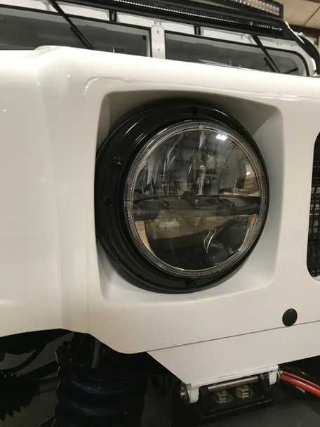 LED Headlight Kit Plug & Play 12 & 24V