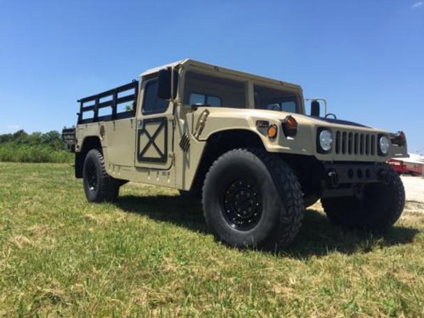 2 Man 1/4'' Aluminum Hard Top and Fiberglass Door Kit For Humvee