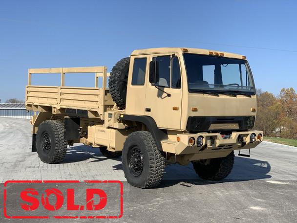 1998 BAE M1078  2 1/2 Ton Cargo Truck 4X4