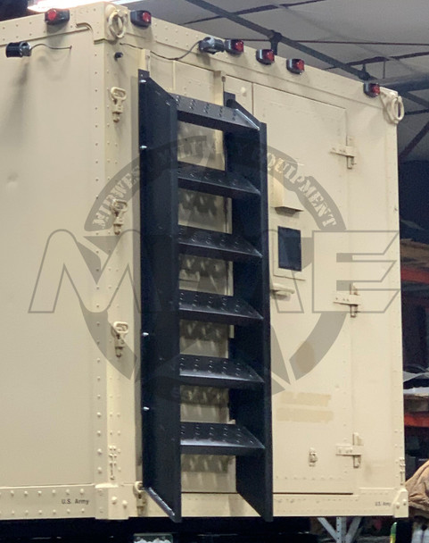 Replacement M1079 Boarding Ladder (Raw Aluminum)