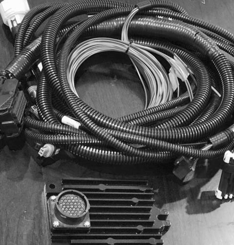 humvee stand alone transmission controller \u0026 harness 4l80e 4l85e (4 speed) 4L80E Wiring Harness Diagram