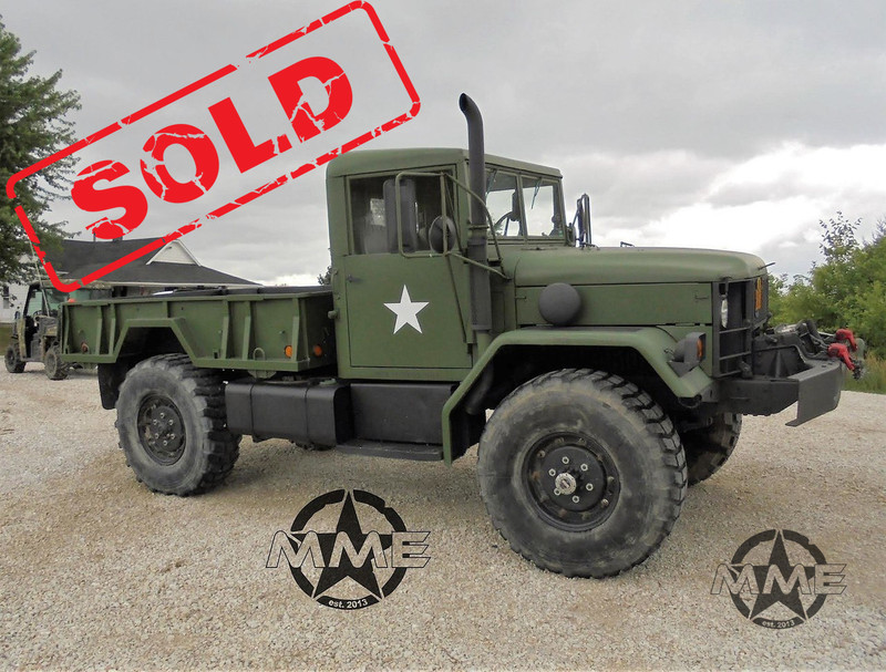 1985 Am General M35 Bobbed Deuce And A Half Midwest Military Equipment