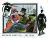 The Eagle Lobbycard From Left: Vilma Banky Rudolph Valentino 1925. Movie Poster Masterprint - Item # VAREVCMCDEAGLEC028H