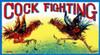 Cock Fighting Poster Print by Retrobot - Item # VARPDX374908