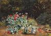 Summer Flowers In a Quiet Corner of a Garden Poster Print by  David Bates - Item # VARPDX265909