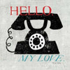 Vintage Desktop - Phone Poster Print by Michael Mullan - Item # VARPDX8376