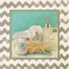 Silver Chevron Bath II Poster Print by Patricia Pinto - Item # VARPDX9298B
