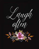 Laugh Often Poster Print by  Tara Moss - Item # VARPDXTA1770
