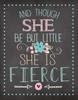 She is Fierce Poster Print by Jo Moulton - Item # VARPDXJM11999