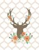 Deer Flowers I Poster Print by  Tamara Robinson - Item # VARPDXTR1594
