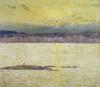 Sunset Ironbound Island: Mount Desert Maine Poster Print by  Childe Hassam - Item # VARPDX277859