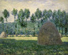 Haystacks Near Giverny Poster Print by  Claude Monet - Item # VARPDX278663