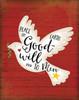 Peace on Earth Dove Poster Print by Jennifer Pugh - Item # VARPDXJP4878