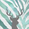 Watercolor Teal Zebra I Poster Print by Patricia Pinto - Item # VARPDX6533N