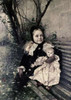 Her Favorite Doll Poster Print by  Gustave Claude E. Courtois - Item # VARPDX277136