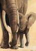 Elephant love I Poster Print by Renee - Item # VARPDXMLV436