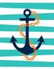 Pirate Anchor II Poster Print by  Tamara Robinson - Item # VARPDXTR1410