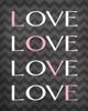 Love Love Love Love Poster Print by Tamara Robinson - Item # VARPDXTR1073
