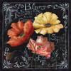 Flowers in Bloom Chalkboard II Poster Print by  Tre Sorelle Studios - Item # VARPDXRB8389TS