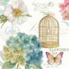 Rainbow Seeds Floral Birdcage III Poster Print by Audit Lisa - Item # VARPDX23430