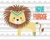 Tribal Lion Poster Print by  Tamara Robinson - Item # VARPDXTR1712