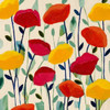 Cheerful Poppies Poster Print by Carrie Schmitt - Item # VARPDXS1078D