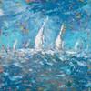 Sailing I Poster Print by  Kingsley - Item # VARPDX7841
