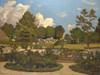 The Painters Garden at Saint-Prive Poster Print by Henri-Joseph Harpignies - Item # VARPDX3AA2678