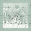 Friendly Calves II Poster Print by  Carol Robinson - Item # VARPDX17517