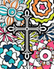 Cross Flowers Colors Poster Print by  Tamara Robinson - Item # VARPDXTR1619