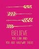 Fuchsia Believe Poster Print by Jo Moulton - Item # VARPDXJM11278