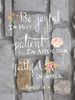 Romans 12:12 Brick II Poster Print by Tara Moss - Item # VARPDXTA1370