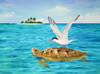 Turtle Island Poster Print by Carolyn Steele - Item # VARMGL600615