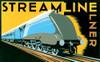Streamline Train Poster Print by Brian James - Item # VARMGL600737